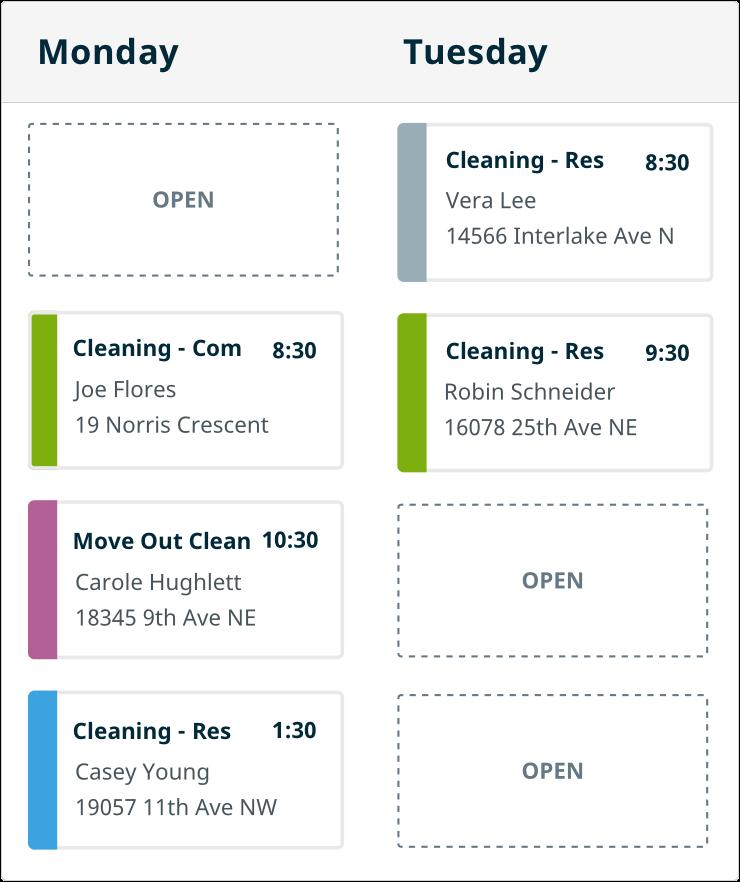 Drag and Drop Calendar
