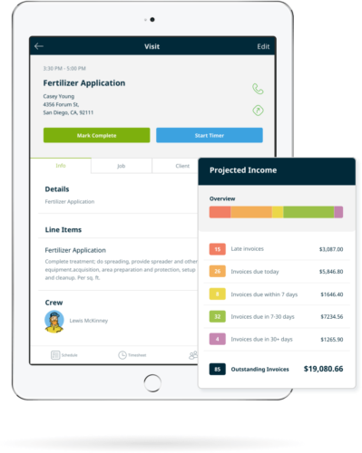 business management software for lawn care companies start free trial