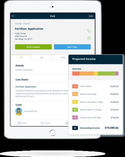 lawn care scheduling  u0026 billing software