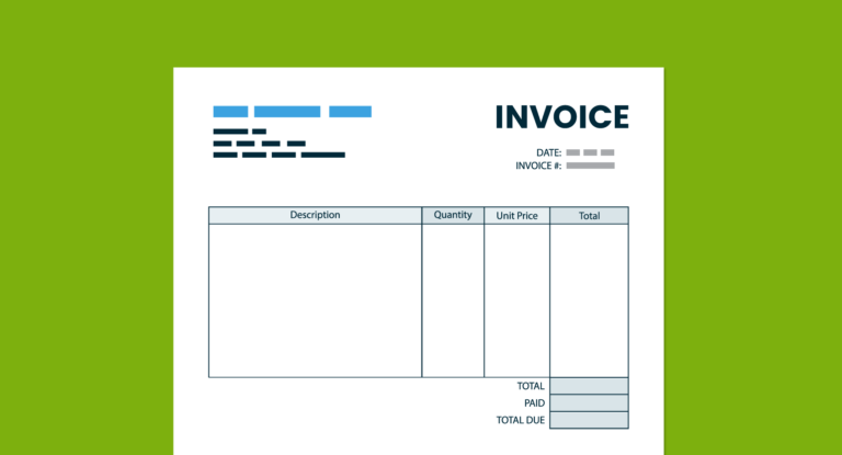what is an invoice