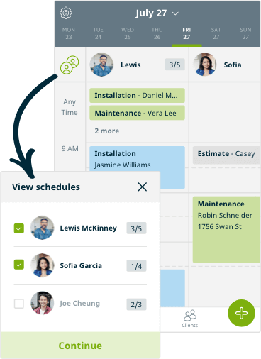 scheduling software for service businesses