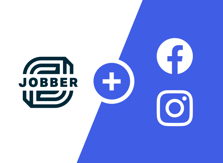 Facebook and Instagram ads, powered by Jobber and Mailchimp