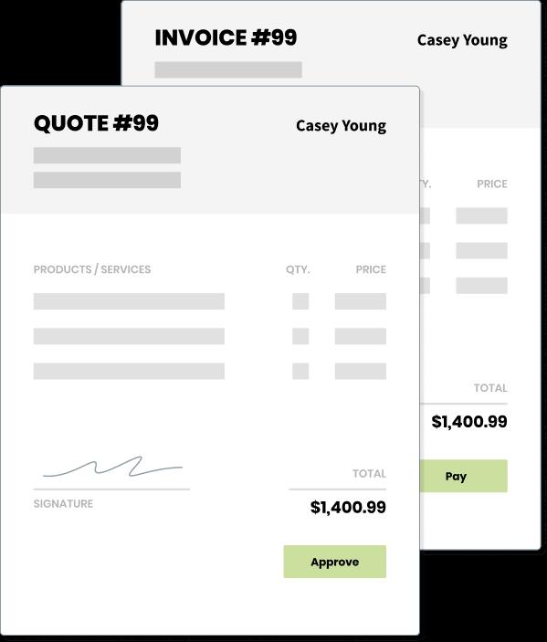 quote & invoice tool